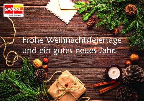 Frohe Weihnachten Und Ein Gutes Neues Jahr 2019 Spo